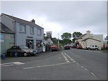 SN2233 : Tegryn village centre by ceridwen