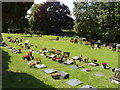 SU9090 : Cremation commemorations, Altona Road Cemetery. by David Hawgood
