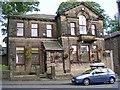 SE0338 : Oakworth Social Club - Colne Road (Chapel Lane) by Betty Longbottom