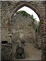 TG1431 : The ruin of St Mary's chapel, Mannington Hall by Evelyn Simak