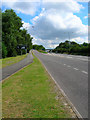 TQ3408 : A27 Eastbound Carriageway by Simon Carey