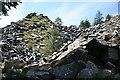 SX2672 : Quarry Waste Tip by Tony Atkin