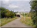 SE4003 : Stoneyford Road bridge over Trans Pennine Trail. by Steve  Fareham