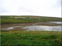 HU3577 : Mudflats at the head of Gluss Voe by Ken Craig