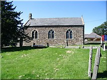 SS9883 : Church on the north edge of Brynna by Nigel Davies