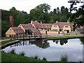 SJ9682 : Lyme Park old mill by Gethin Evans