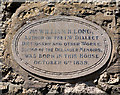 SZ4286 : Plaque on Grants Cottage, Calbourne by Peter Facey