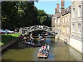 TL4458 : Mathematical Bridge, Queens' College. by Oxyman