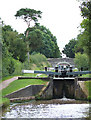 SJ6542 : Audlem Locks, Shropshire Union Canal, Cheshire by Roger  Kidd
