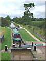 SJ6542 : Audlem Locks No 7, Shropshire Union Canal, Cheshire by Roger  Kidd