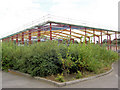 SE3704 : New retail unit in the course of construction. by Steve  Fareham