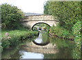 SJ9171 : Leek New Road Bridge (No 45), Macclesfield Canal, Cheshire by Roger  Kidd