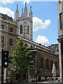 TQ3281 : City parish churches: St. Mary Aldermary (rear view) by Chris Downer