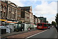 TQ3481 : Whitechapel Road, looking east by Dr Neil Clifton