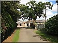 Dist:0.6km<br/>Farm with attendant collection of cottages. Most of the surrounding land is recently harvested barley.