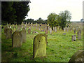 Dist:0.1km&lt;br/&gt;The graveyard at St. Mary's Church.