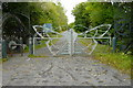 NZ2969 : Entrance Gate to Country Park by A McCarron