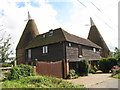 TQ8349 : Parsonage Oast, East Sutton Hill, East Sutton, Kent by Oast House Archive
