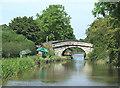 SJ8357 : Kent Green Bridge, Macclesfield Canal by Roger  Kidd