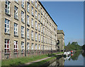 SJ9277 : Adelphi Mill and Macclesfield Canal at Bollington, Cheshire by Roger  Kidd