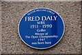 C8640 : Fred Daly plaque, Portrush by Albert Bridge