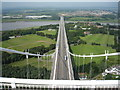 ST5590 : Severn Bridge - Public Access by pdab09