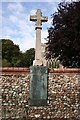 TF9434 : Great Snoring War Memorial by Richard Croft