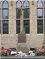 SE0936 : War Memorial - Main Street, Wilsden by Betty Longbottom