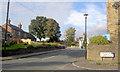 SE3402 : Traffic lights in Worsbrough village by Steve  Fareham