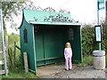 SP8100 : An ornate bus shelter by Peter Jemmett