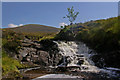 NH2596 : Small waterfall on Allt nan Clar-lochan by Ian Capper