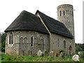 TM3896 : St Margaret's Church, Hales (2) by Evelyn Simak