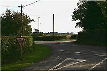 S0835 : Cross roads near Poulagower by kevin higgins