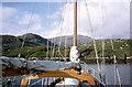 NF8438 : Caolas Mòr - the great anchorage by Julian Paren