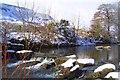 SO1304 : River Rhymney Troedrhiwfuwch by martin evans
