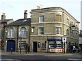 The Grapes public house on the corner of St.Andrew's Street North and Brentgovel Street Bury St.Edmunds Suffolk.