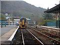 SH5639 : Departing for Pwllheli by John Lucas