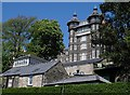 SK3060 : Matlock - Rockside Hall from top of Bank Road by Dave Bevis