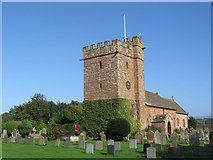 NY5536 : St. Cuthbert's Church, Gt. Salkeld by wfmillar