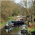 SO8898 : Entering Compton Lock, Staffordshire and Worcestershire Canal by Roger  Kidd