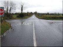 N8231 : Staplestown Cross Roads by Jonathan Billinger