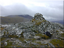 NN4881 : Summit cairn of Creag Pitridh by Nigel Brown