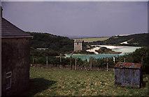 SW9653 : Carpalla engine house by Chris Allen