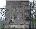 SJ9400 : Heraldic Plaque, King George's Field by John M