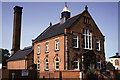 SJ4912 : Coleham Sewage pumping station, Shrewsbury by Chris Allen