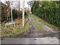 SJ4466 : Park Lane, of the A41 by BrianPritchard