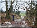 SJ3470 : Old Dee embankment by John Hughes