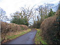 SP3081 : Staircase Lane by Church Farm by E Gammie