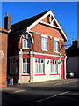 TQ8564 : The Wheatsheaf public house, Newington by Richard Dorrell