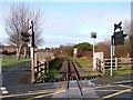 SN5980 : Vale of Rheidol Railway at Llanbadarn Fawr by John Lucas